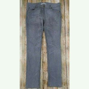 3.1 Phillip Lim Skinny Jeans 8 Gray Rolled Cuff